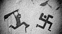 That's how ya get rid of racist graffiti!