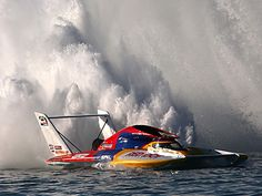 Hydro racing! Loved it, only kind of miss it.
