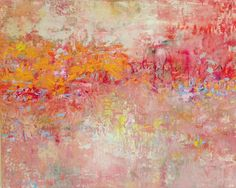 Scatter Hope, 2014, Oil and Pigment, 48 x 60 in.