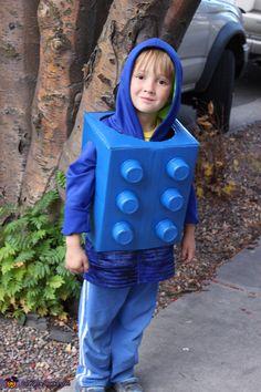 Lego Kid - DIY Halloween Costume