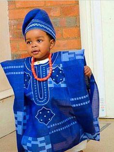 Nigerian dressing boy