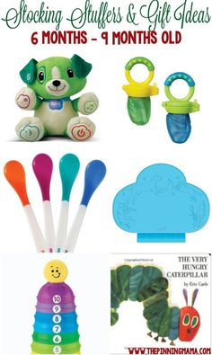 Great Gift Ideas For A 6 Month Old Baby, 7 Month Old Baby And 8 · Baby  Christmas GiftsBabys 1st ...