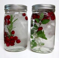 Flavored Water -- Pinterest Inspired Idea