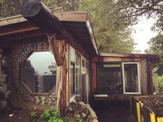 560sq ft earthship house in california cost $10,000 to build