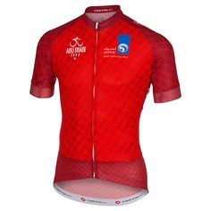 Maglia Abu Dhabi Tour 2015 - Rosso - All4Cycling