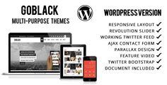 Shopping GoBlack - Onepage Parallax WordPress Themeonline after you search a lot for where to buy