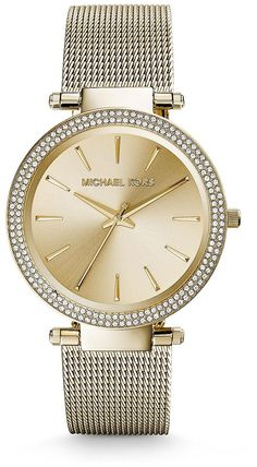 Michael Kors Darci Gold Tone Stainless Steel Ladies Watch MK3368