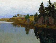 A lake - Isaac Levitan