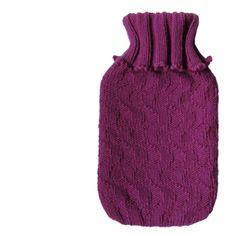 Easy Hot Water Bottle Cosy Pattern Knitting Stitches, Knitting Patterns Free, Knit Patterns, Free Knitting, Free Pattern, Knit Or Crochet, Free Crochet, Stylish Short Haircuts, Creative Knitting