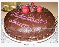 Laube Leal | Placer adulto: tarta de chocolate y naranja (chocolate and orange cake)