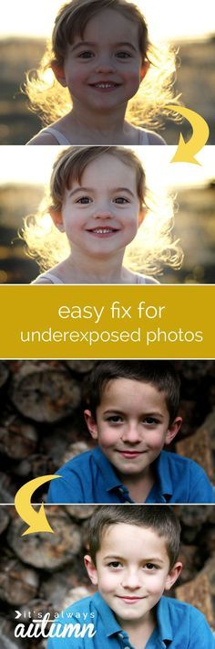 save dark or underexposed photos with this simple & easy trick for brightening! step by step screenshots show you exactly what to do.