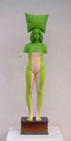 Willy Verginer (Italy b. 1957) [Sculptor]