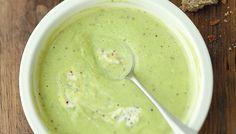 La soupe de courgettes au mascarpone et à la moutarde de Valery Drouet
