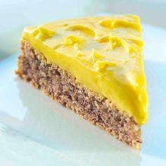 Success tart, NO. Add tsp baking powder to cake batter. Sweet Recipes, Cake Recipes, Norwegian Food, Scandinavian Food, Desserts To Make, Pastry Cake, Let Them Eat Cake, No Bake Cake, Yummy Cakes