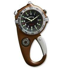 Orvis Men's Ultimate Carabiner Compass Watch  $79.00