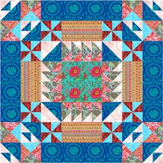 This quilt by Robin Askins shows us: It's all about the fabric!