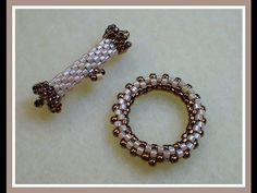 Beaded Peyote Toggle ~ Seed Bead Tutorials