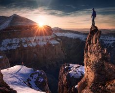 Photographer Max Rive Climbs Mountains To Capture Breathtaking Landscape Pictures
