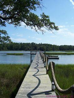Wilmington Filming Locations: Dawson's Creek Pier