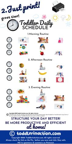 Looking for a visual toddler schedule for your toddler or preschooler at home? Create it by yourself with your own images! This daily routines visual toddler schedule editable printable is great for anyone who is looking for some inspiration and a super easy template how to teach their little ones to structure their days at home. #stayathome #homeschool #dailyroutines