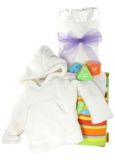 The Ivory Love Luxury Baby Gift Basket