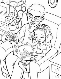 1000 images about lds primary coloring pages on pinterest for Father and daughter coloring pages