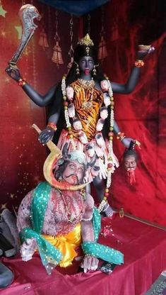 Durga Kali, Kali Hindu, Saraswati Goddess, Kali Mata, Kali Goddess, Mother Goddess, Shiva Shakti, Maa Kali Images, Kali Tattoo