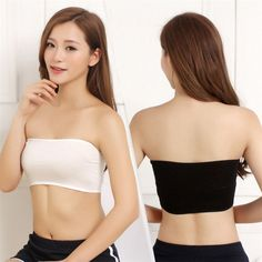 df12067733 LNRRABC One Size Sexy Women Tube Tops Bandeau Thin Safety Crop Top Bra  Underwear Anti Emptied Tank Top Strapless Stretch-in Tube Tops from Women s  Clothing ...