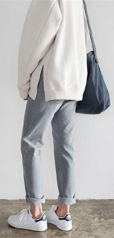 minimalist style pastel shades