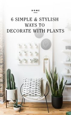 6 Simple & Stylish Ways to Decorate with Plants | eBay