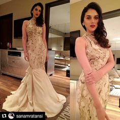 What do you think about @aditiraohydari 's #mermaidgown ? Would you hip it or skip it - let us know in the comments below #celebstyle #hiporskip #hippily #livehippily