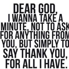 Thank you God!<3