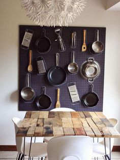 Who says pegboard is just for the garage? Click for organization ideas for every home! #MyHomeSense