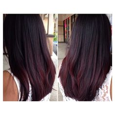 Red violets #colormelt #balayage