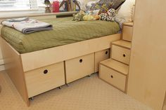 casa kids-storage on wheels- kids furniture