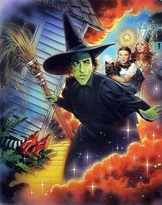 Wizard of oz book wicked witch