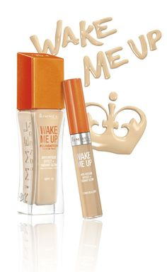 WAKE ME UP FOUNDATION & CONCEALER: Wake Up and Glow!