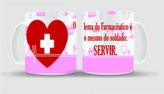 Caneca Farmacêutico é Servir