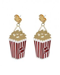 Hula Hoop AW15 // Pop Corn Earrings // 36 euros (originally 42 euros) (sale 29 euros)
