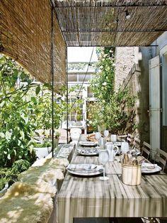 Una casa francesa con espíritu rural