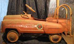 vintage fire dept pedal truck. sweet.emoticon #firedepartment#firedepartmentgloves #firedepartmentbelts #firedepartmentlogo#firedepartmentjewelry #firedepartmentcharm #firedepartmenttoys