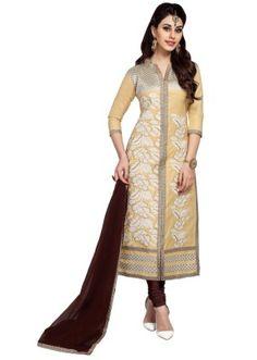 Eid Special  Chiku Cambric Cotton Churidar Suit - 1058