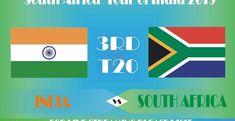 India vs South Africa, 3rd T20, Live Score, Live Streaming, Free online Streaming, Squads T20 Live, South Africa Tours, Live Cricket Streaming, Ravindra Jadeja, Shikhar Dhawan, Scores, Squad, India, Free