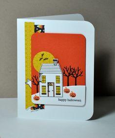 Holiday Home Halloween Card