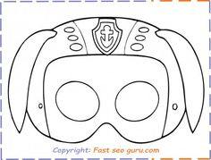 free patrol mask printable coloring in mask for kids. free patrol mask printable coloring in mask for kids.paw patrol names zuma coloring page for kids. Paw Patrol Masks, Zuma Paw Patrol, Free Printable Coloring Pages, Coloring Pages For Kids, Imprimibles Paw Patrol, Paw Patrol Party Supplies, Birthday Ideas For Her, Birthday Kids