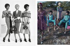 visual optimism; fashion editorials, shows, campaigns & more!: now trending: ajak deng, amilna estevao, anais mali, aya jones, leona binx walton and tami williams by emma summerton for w august 2015