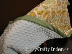 Another blanket/binding tutorial...gotta love these!