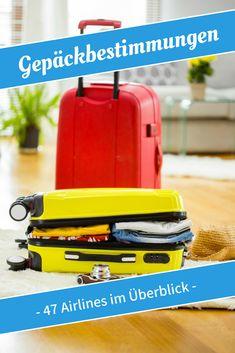 Alle Gepäckbestimmungen und Gepäckrichtlinien im Überblick - von Ryanair über Eurowings bis hin zur Air France #gepäckbestimmungen #gepäckrichtlinien #handgepäck #ryanair #easyjet #eurowings