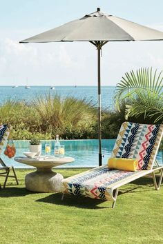 Save this to get outdoor home decor inspiration from this summer West Elm collection.
