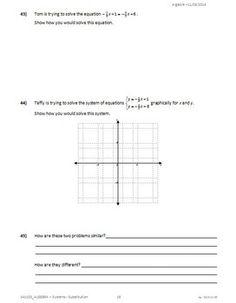Homeschool Math Blog Free worksheets for linear equations